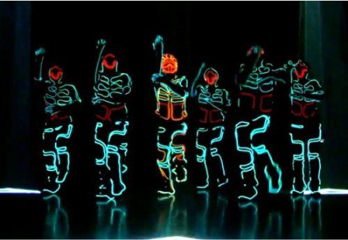 LED Strip light art - properti seni tari