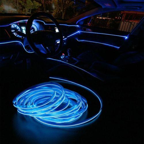 cara pasang led strip mobil sederhana