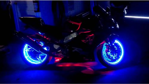 Cara pasang Led strip motor