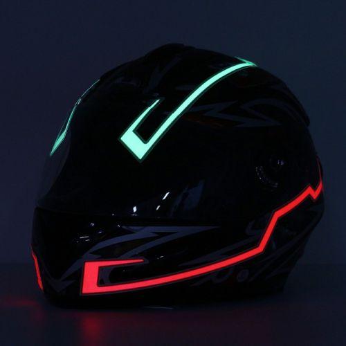 neon flex untuk helm motor