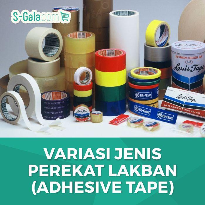 Jenis Perekat Lakban - Adhesive Tape