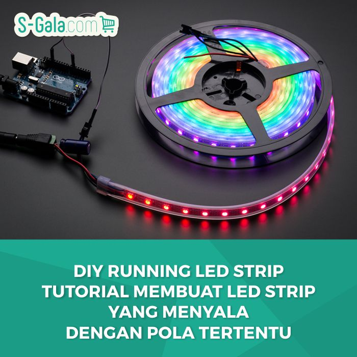 DIY Running LED Strip