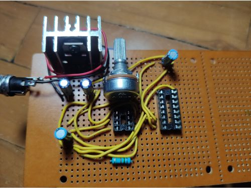 DIY Running LED Strip
