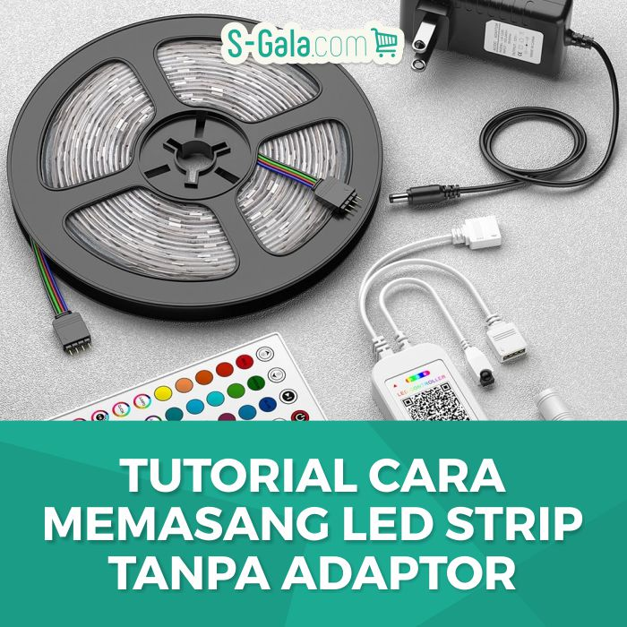 LED strip Tanpa Adaptor