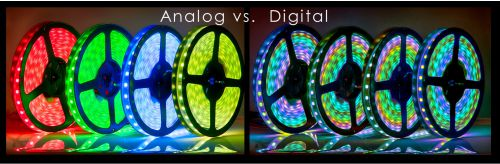 LED Strip Digital dan Analog