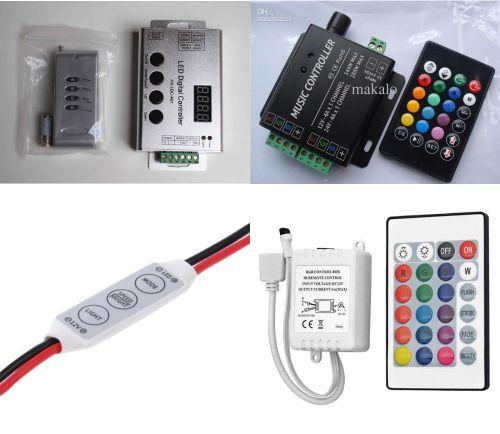 controller dan remote led strip