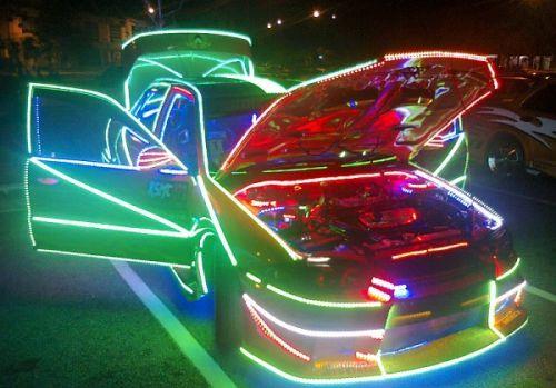 Fungsi Neon Flex untuk Mobil