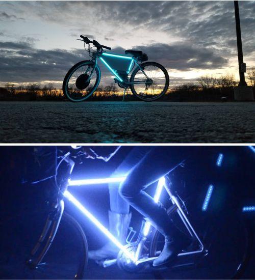 fungsi neon flex untuk sepeda
