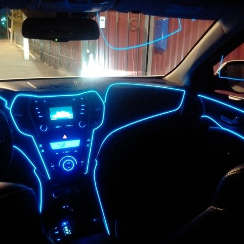 Fungsi neon flex untuk interior mobil