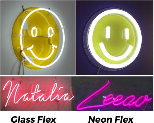 Mengganti glass neon flex dengan led neon flex