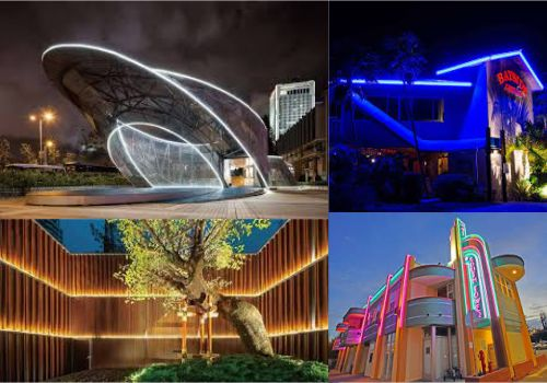 penggunaan led neon flex outdoor