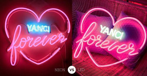 Neon Flex Tradisional VS LED Neon Flex