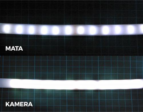 DIY LED Neon Flex menggunakan selang silicon 1 layer