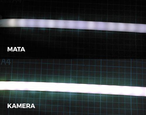 DIY LED Neon Flex menggunakan selang silicon 2 layer