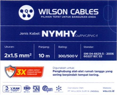 Struktur penamaan kabel listrik yang baik