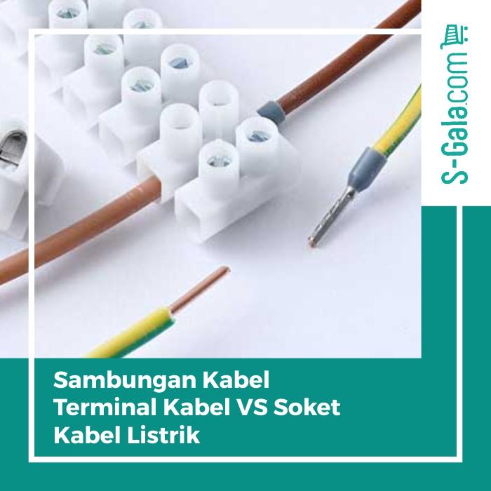 terminal kabel soket kabel