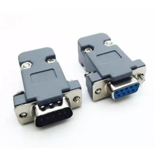 soket DB 9 sambungan kabel