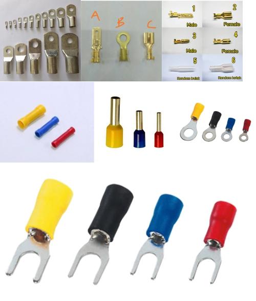 Berbagai model skun kabel listrik
