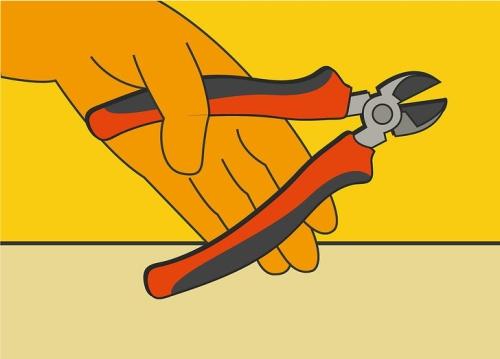 Cara memotong kabel yang benar