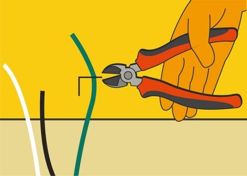 cara memotong kabel
