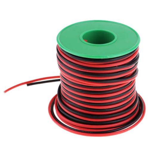 roll kabel listrik merah hitam