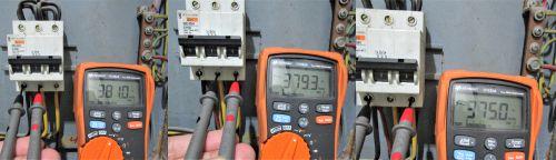 pengukuran kabel listrik 3 phase fasa ke fasa
