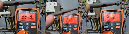 pengukuran listrik 3 phase fasa ke netral
