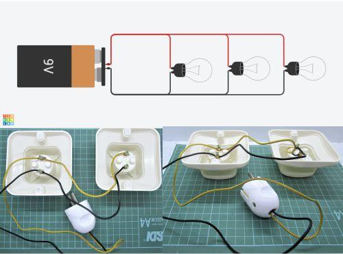Rangkaian paralel lampu