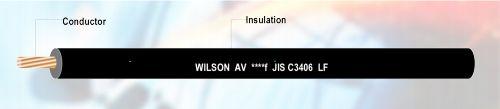 Gambar kabel otomotif merk Wilson AV & AVf