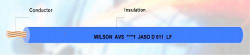 Gambar kabel otomotif merk Wilson AVS & AVSf