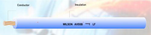 Gambar kabel otomotif merk Wilson AVSSBf