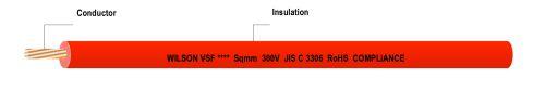 Gambar kabel listrik merk Wilson VSF