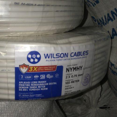 Gambar kabel instalasi merk Wilson NYMHY