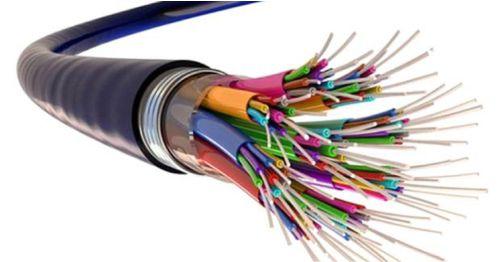 Gambar kabel listrik komunikasi atau communication cable