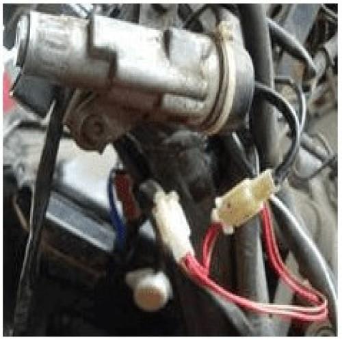 Gambar kunci kontak yang menggunakan 2 kabel