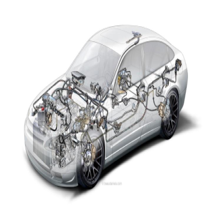 gambar sistem kelistrikan mobil