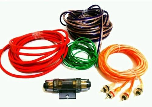 Gambar macam-macam kabel audio mobil