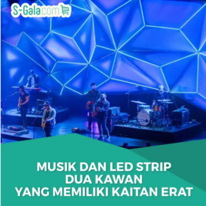 LED strip dan musik
