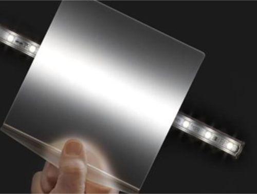 Bagian lampu yang memiliki diffuser dan tidak