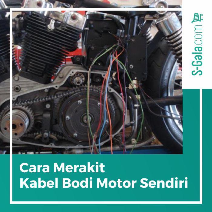 sistem perkabelan pada sepeda motor