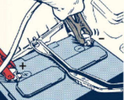 memasang kabel jumper
