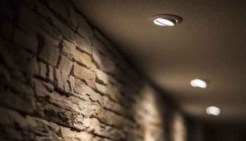 Gambar aplikasi lampu downlight yang bisa di atur