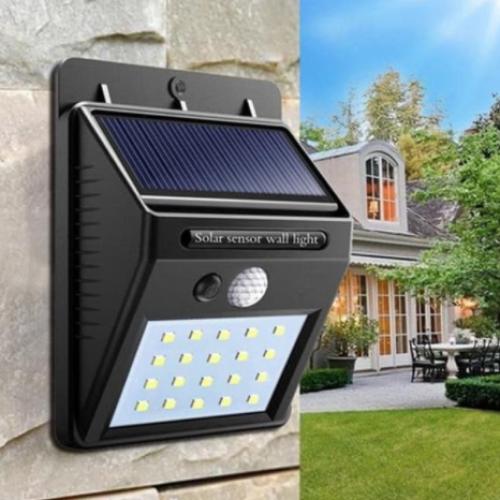 contoh lampu panel tenaga surya