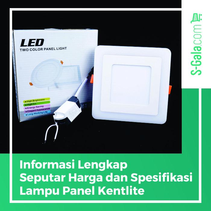 lampu panel kentlite