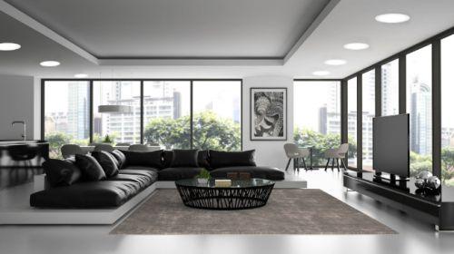 Gambar contoh penggunaan lampu LED panel