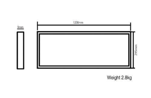 Gambar lampu panasonic tipe NNP86740031