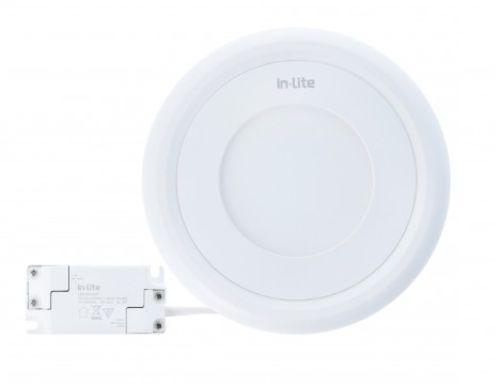 Gambar lampu panel downlight LED bulat merk In-Lite