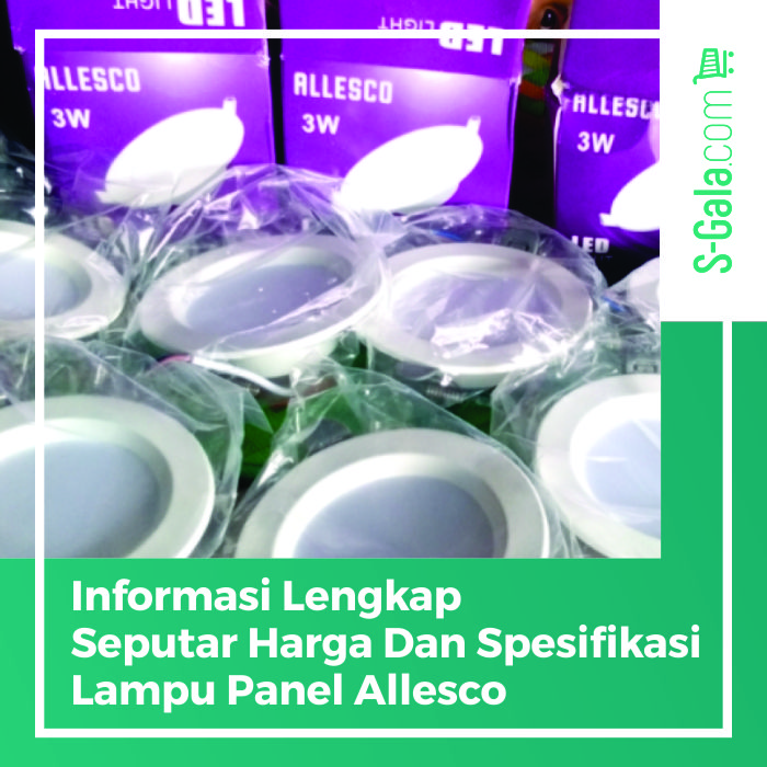 Lampu Panel Allesco