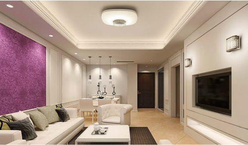 Gambar salah satu ruangan yang menggunakan lampu panel LED