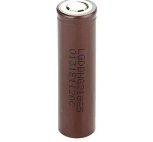 Gambar baterai tipe 18650